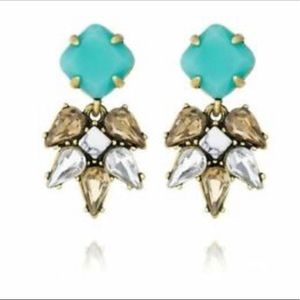 Turquoise Chloe and Isabel drop earrings